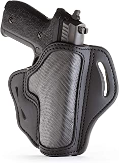 1791 GUNLEATHER Holster for Sig Sauer P226, P220, P229 Right Hand OWB Leather & Carbon Fiber Gun Holster for Belts Also fi...