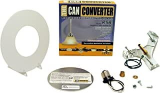 Light Recessed Flat Canopy Converter R56-RMF-WHT Conversion Kit for 5