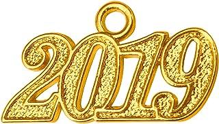 GraduationMall Alloy Gold 2019 Year Charm for Graduation Tassel