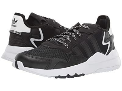 adidas Originals Kids Nite Jogger (Little Kid) (Black/Carbon) Boy