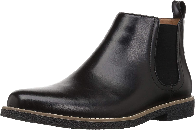 Deer Stags Unisex-Child Zane Memory Foam Dress Comfort Chelsea Boot