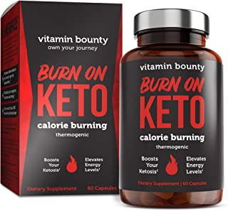 Sponsored Ad - Burn on Keto - Keto Pills with BHB Beta Hydroxybutyrate Exogenous Ketones and Green Tea Extract