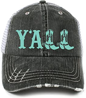 Y'all Southern Country Women's Trucker Hat Cap