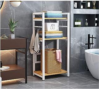 KOKOF Étagère de toilette pour salle de bain - Étagère de rangement pour WC - Étagère de rangement pour balcon - Étagère d...