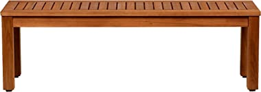 """Amazonia Aster Backless Patio Bench 