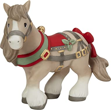 Precious Moments May Your Neighs Be Merry and Bright Annual Animal Figurine 211015