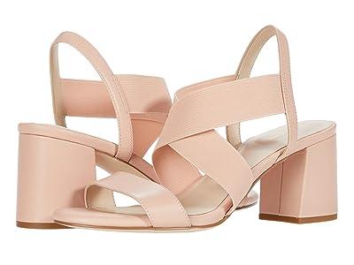Cole Haan Aniston Elastic Sandal (65 mm) (Mahogany Rose Leather/Gore) Women