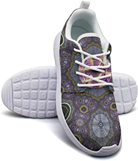 INTERESTPRINT Mens Water Sports Shoes Horoscope Circle Water Sports Aqua Shoes