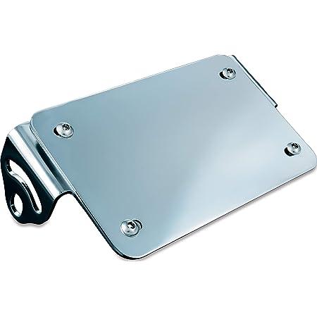 Kuryakyn 3155 Motorcycle Lighting Accessory: Rear Fender License Plate Turn Signal/Blinker Light Relocator Kit, Chrome