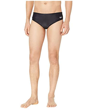 Speedo Core Solid Swim Briefs (New Black) Men