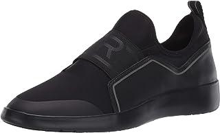 Taryn Rose Women's Slip on Sneaker, Black 5