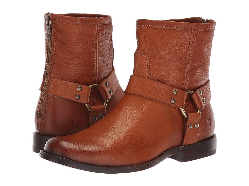 Frye Phillip Harness Short (Whiskey Soft Vintage Leather) Women