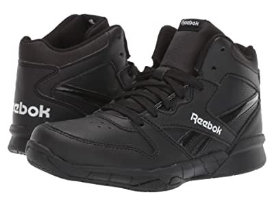 Reebok Kids BB4500 Hi 2 (Little Kid/Big Kid) (Black/White) Kids Shoes