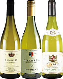 酒のダイナミック シャブリ 白ワイン 飲み比べ 750ml 3本セット …