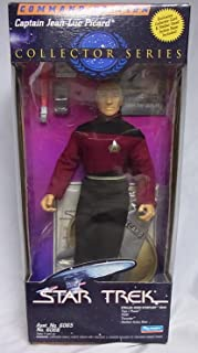 Star Trek Command Edition Captain Jean-Luc Picard Collector Series Action Figure Doll