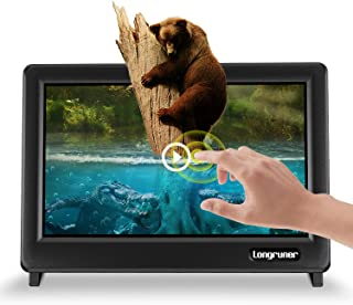 Longruner for Raspberry Pi Touch Screen 7 Inch Pantalla táctil Display Monitor 1024X600 LCD TFT HDMI with Protective Case Caja for Raspberry Pi 3 2 1 Model B B+ BB EP711