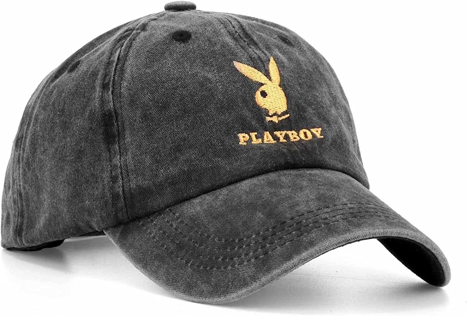 Bunny Hat Embroidered Cowboy Baseball Cap, Classic Snapback Hat for Men Women Outdoor Driver's Hat