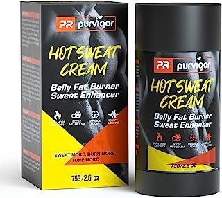 Hot Sweat Cream, Belly Fat Burner Sweet Sweat Enhancer Workout Gel Massage Muscle Cream for Women and Men Weight Loss Fitn...