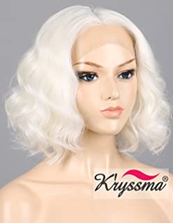 Best platinum blonde wig short Reviews