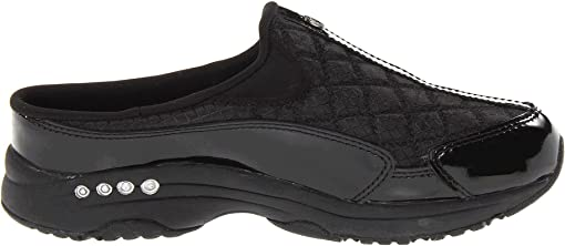 Black Patent Leather/Silver