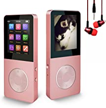 $21 » Mp3 Player, Hotechs Hi-Fi Sound, with FM Radio, Recording Function Build-in Speaker Expandable Up to 64GB with Noise Isola...