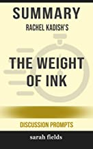 Summary: Rachel Kadish's The Weight of Ink