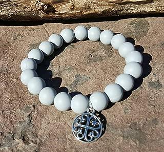 Gray Silcone Bracelet Bella Cuff not Rustic Cuff Catherine