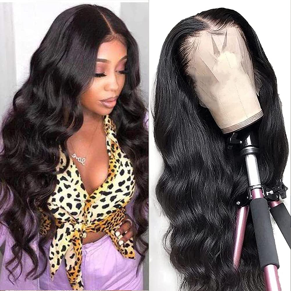 Dosacia Body Wave Lace Front Brand new Wigs Human HD Hair Tr 13x4x1 T-Part Free shipping / New
