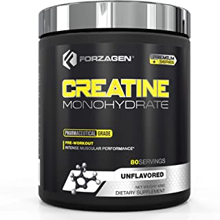 Forzagen Creatine Powder Monohydrate - Workout Supplements | No More Pills, Capsules | Best Creatine Unflavored For Muscle...