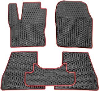 Fußmatten Sport Line rot-grau Ford EcoSport ab 2014 Automatten Autoteppiche