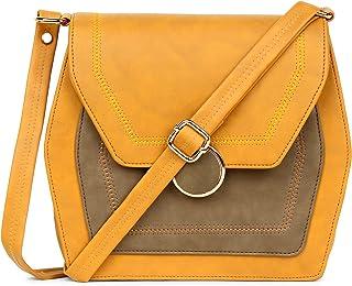 Festive Fashion Stylish Latest Leather Bag for Women's and Girls | Trendy Shoulder Sling Handbag | Side Bag for Women | Wo...