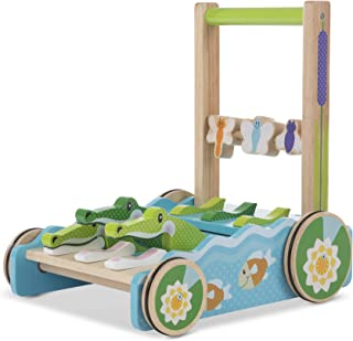 Melissa & Doug First Play Chomp & Clack Alligator Push Toy (Developmental Toy, Great Gift for Girls and Boys - Best for Babies and Toddlers, 12 Month Olds, 1 and 2 Year Olds)