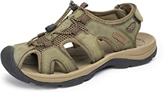 Brand Genuine Leather Shoes Summer New Large Size Men's Sandals Men Sandals Fashion Sandals and Slippers