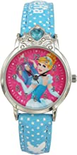 Disney Analog Multi-Colour Dial Girl's Watch-AW100728