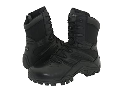 Bates Footwear Delta 8 Side Zip (Black) Men