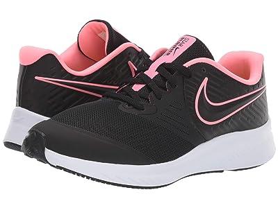Nike Kids Star Runner 2 (Big Kid) (Black/Pink) Girls Shoes