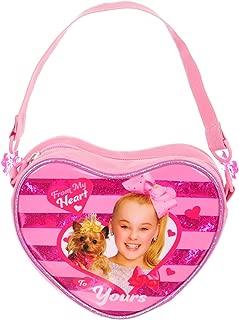 JoJo Siwa JJ30526DIPK00 Jewel Beaded Handbag Tote, One Size, Pink
