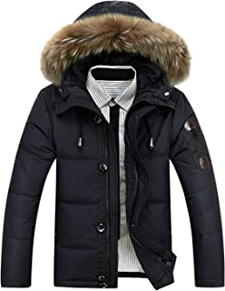 The rest of my life Warm Duck Down Jackets Men Winter Thick Hooded Down Coat Male Down Coats Overcoat Outerwear