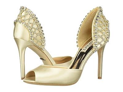 Badgley Mischka Adrina (Ivory Satin) High Heels
