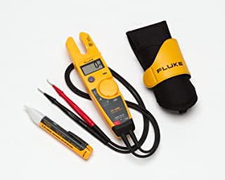 Fluke T5-H5-1AC Kit 3 Piece 1000V USA Electrical Tester, Custom Holster and AC Voltage Detector Kit