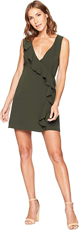 Gardenia Sleeveless Wrap Dress