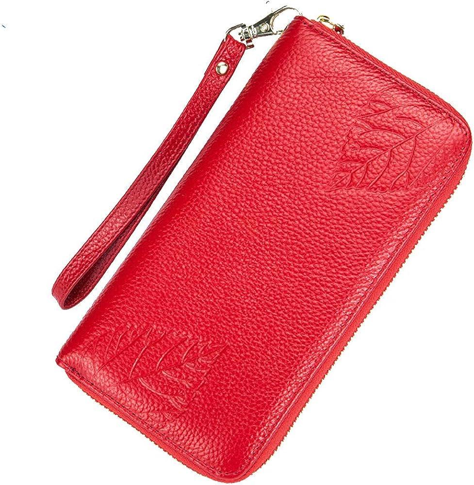 Su.b porta carte di credito da donna portafogli con protezione rfid in pelle CN Women Wallet