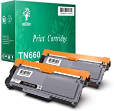 GREENSKY Compatible Toner Cartridge Replacement for Brother TN660 TN630 DCP-2560DN MFC-L2707DW MFC-L2700DW HL-L2380DW DCP-L2540DW HL2340DW MFC-L2740DW MFC-L2685DW HL-L2300D Printer (Black, 2-Pack)