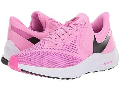 Nike Zoom Winflo 6 (Psychic Pink/Black/Laser Fuchsia/White) Women