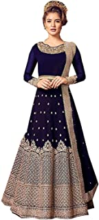 New Indian Pakistani Diwal Special Anarkali Salwar Kameez Latest Embroidered Long Anarkali Gown for Womens