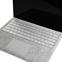 TOP CASE - Ultra Thin Invisible Keyboard Protector Cover Compatible with Microsoft Surface Laptop (2017 Released) & Surface Book & Surface Book 2, Soft-Touch & Precision Fit Keyboard