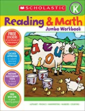Reading & Math Jumbo Workbook: Grade K PDF