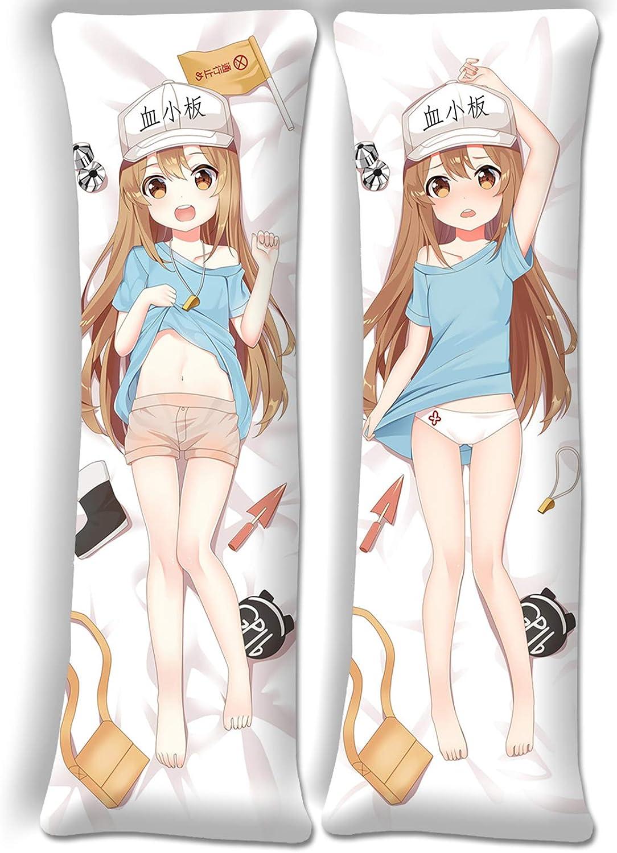 SDMFUNS Cells at Work Platelet Pillowcase Sale special price Body Anime Pillo Over item handling ☆