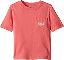 Short Sleeve MV Sticker Pocket T-Shirt (Toddler/Little Kids/Big Kids)