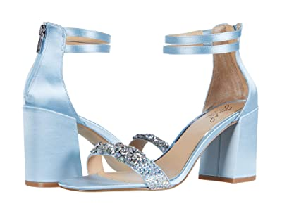 Jewel Badgley Mischka Natala (Light Blue/Iridescent) Women